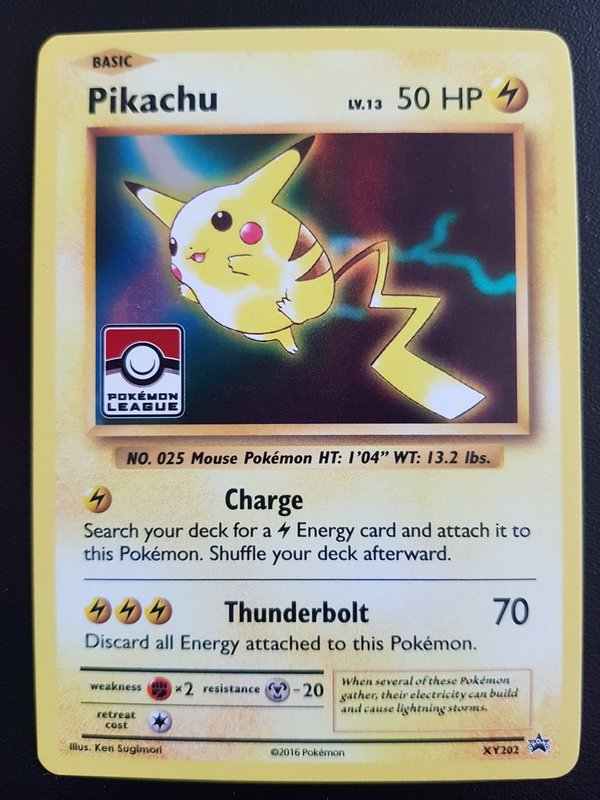 Pikachu XY202 - Black Star Promo - Englisch - NM/Mint