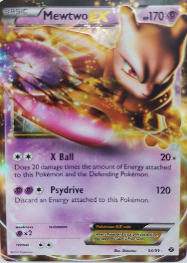 Mewtwo EX 54/99 Next Destinies Englisch NM