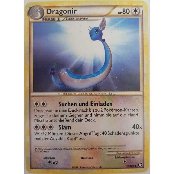 Dragonir 32/102 HGSS Deutsch NM
