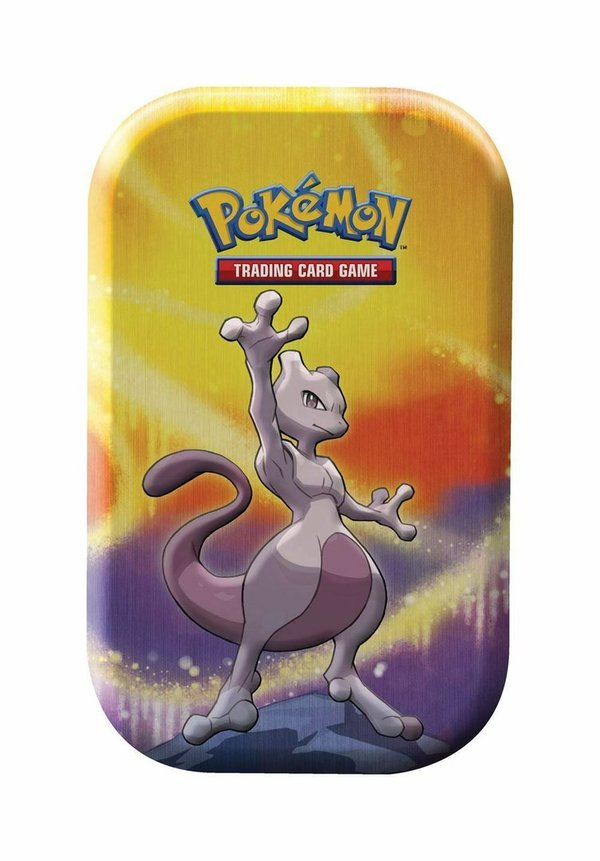 POKÉMON CARDS KANTO STÄRKE  MINI TIN BOX # MEWTWO Deutsch