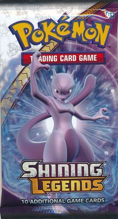 Shining Legends Sealed Booster Pack Pokemon Englisch