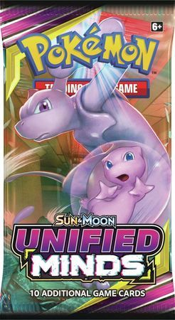 Sun & Moon Unified Minds Sealed Booster Pack Pokemon Englisch