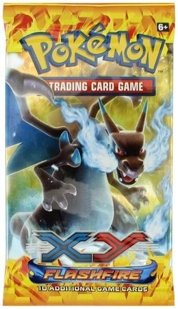 XY Flashfire Sealed Booster Pack Pokemon Englisch