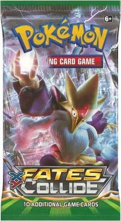 XY Fates Collide Sealed Booster Pack Pokemon Englisch