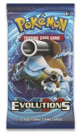 XY Evolutions Sealed Booster Pack Pokemon Englisch