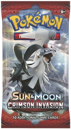 Sun & Moon Crimson Invasion Sealed Booster Pack Pokemon Englisch
