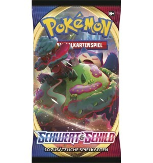 Schwert &Schild Basis Set Sealed Booster Pack Pokemon Deutsch