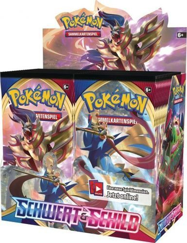 SWSH01 Schwert & Schild Base Set Sealed Booster Display 36 Deutsch
