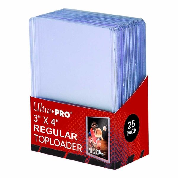 Ultra Pro Top Loader Regular 25Stck. pro Packung
