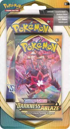 Schwert & Schild Flammende Finsternis Sealed Booster Pack Pokemon Deutsch ab 14.08.2020