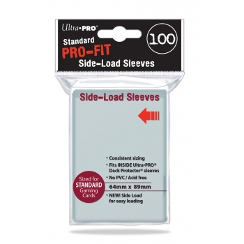 Ultra Pro Sleeves Standard PRO FIT Side Load Card Sleeves 100 Hüllen pro Packung