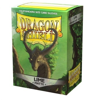 Dragon Shield Standard Sleeves - Matte - Lime - 100 Hüllen pro Packung