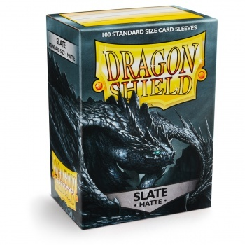 Dragon Shield Standard Sleeves - Matte - Slate - 100 Hüllen pro Packung