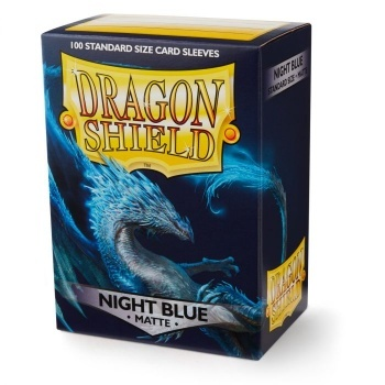 Dragon Shield Standard Sleeves - Matte - Night Blue - 100 Hüllen pro Packung