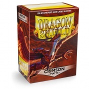 Dragon Shield Standard Sleeves - Matte - Crimson - 100 Hüllen pro Packung