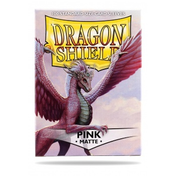 Dragon Shield Standard Sleeves - Matte - Pink - 100 Hüllen pro Packung