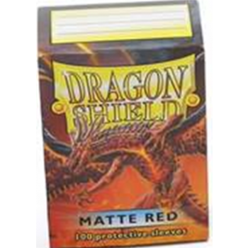 Dragon Shield Standard Sleeves - Matte - Red - 100 Hüllen pro Packung
