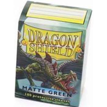 Dragon Shield Standard Sleeves - Matte - Green - 100 Hüllen pro Packung
