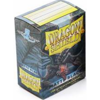 Dragon Shield Standard Sleeves - Matte - Black - 100 Hüllen pro Packung