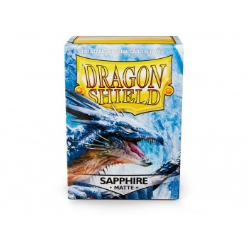 Dragon Shield Standard Sleeves - Matte - Sapphire - 100 Hüllen pro Packung