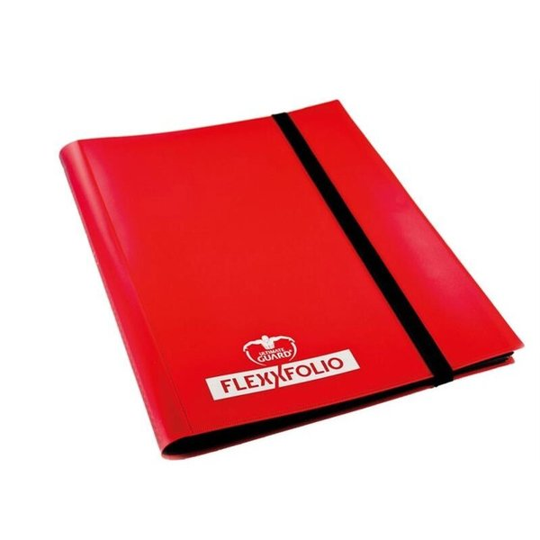 Ulimate Guard - 9 Pocket FlexXfolio  Red (Sammelalbum)