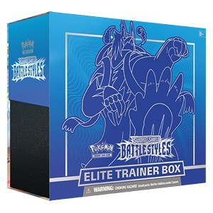 SWSH05- Sword & Shield Top Trainer Box 2 Battle Styles- OVP Englisch